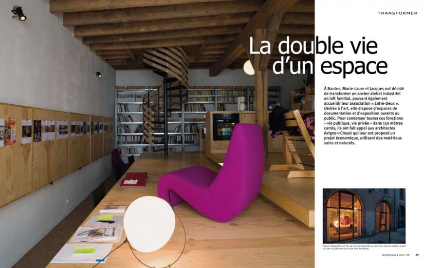 entre deux avignon clouet architectes entre deux. Black Bedroom Furniture Sets. Home Design Ideas